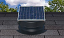 10-Watt Solar Attic Fan - Black