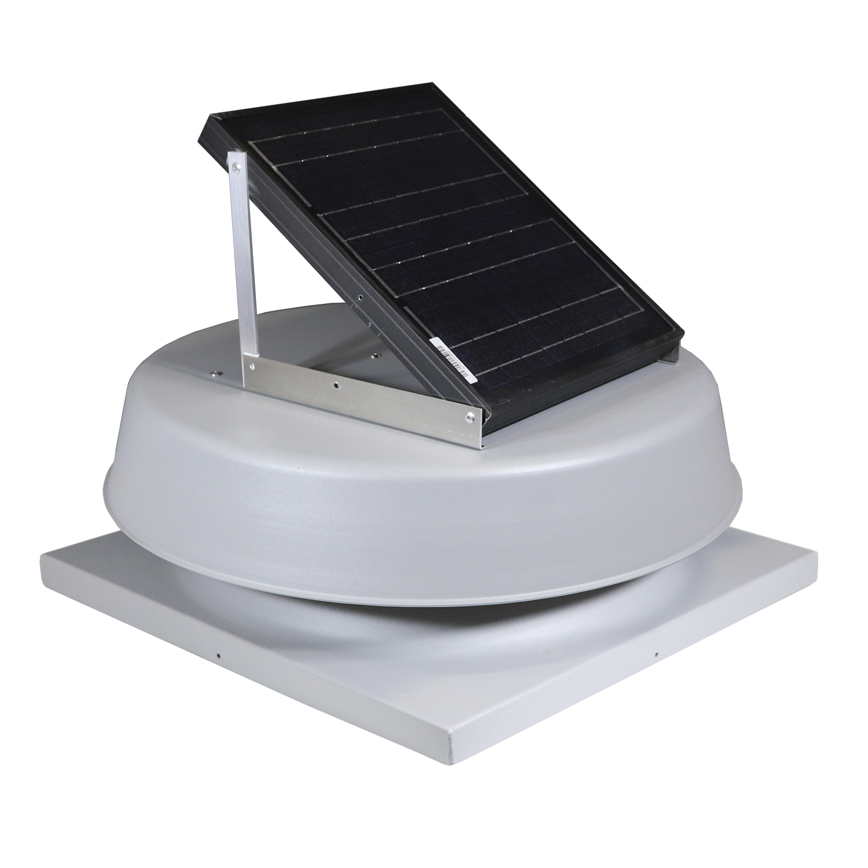 Natural Light SAF16CM- 16-Watt Curb-Mounted Solar Attic Fan (Flat Rooftops)