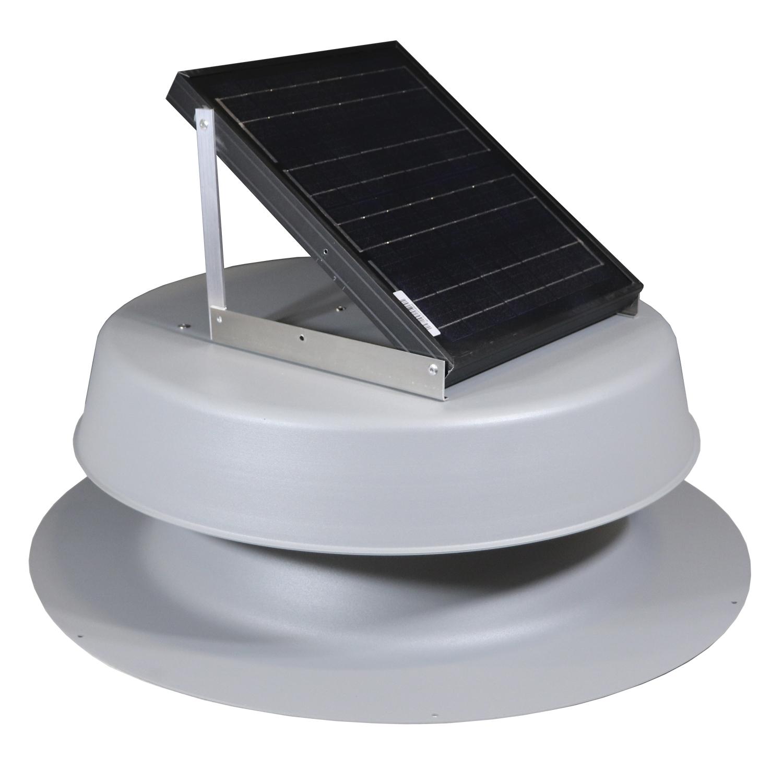 Natural Light SAF-16 Watt Solar Attic Fan - Free Shipping