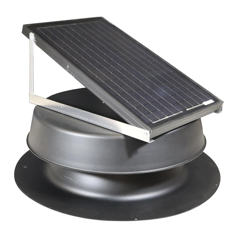 Natural Light SAF-32 Watt Solar Attic Fan - Free Shipping