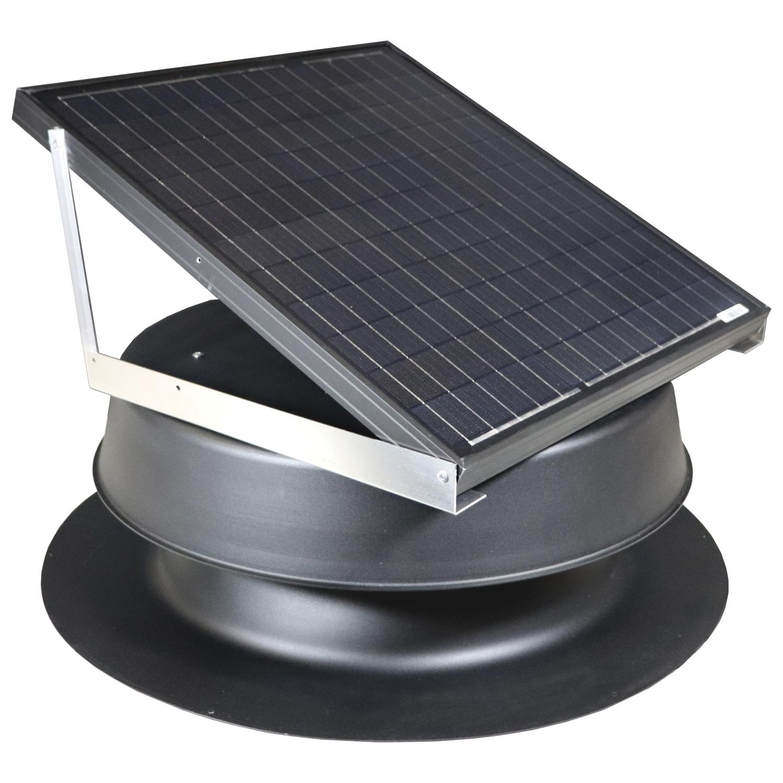 Natural Light SAF-48 Watt Solar Attic Fan - Free Shipping