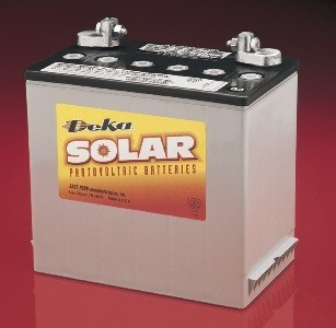 East Penn- Deka Solar AGM 8A22NF 12V Deep Cycle Battery