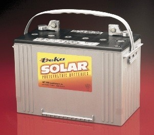 East Penn- Deka Solar AGM 8A27 12V Deep Cycle Battery
