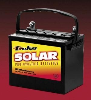 East Penn- Deka Solar AGM 8AU1H 12V Deep Cycle Battery