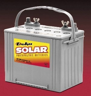 East Penn- Deka Solar GEL 8G24DT 12V Deep Cycle Battery