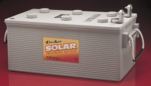 East Penn- Deka Solar GEL 8G8DLTP 12V Deep Cycle Battery