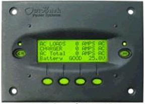 Outback MATE2- Flush Mount System Display & Control - Black