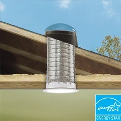 """Velux 14"""" TMF Flexible Pitched SunTunnel- Acrylic Dome"""