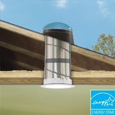 """Velux 10"""" TMR 0000-EO Rigid Pitched SunTunnel- Acrylic Dome"""