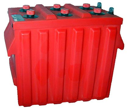 Surrette Rolls - 12-CS-11PS 12V Deep Cycle Flooded Solar Battery