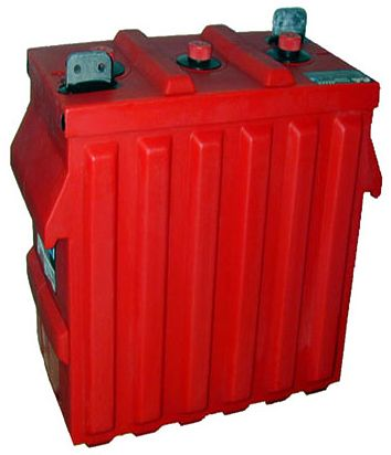 Surrette Rolls - 6-CS-17PS 6V Deep Cycle Flooded Solar Battery