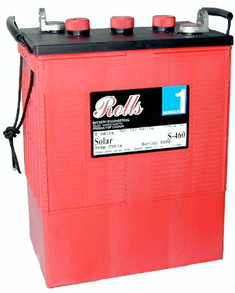 Surrette Rolls S-460 Deep Cycle Flooded Solar Battery