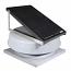 Natural Light SAF24CM- 24-Watt Curb-Mounted Solar Attic Fan (Flat Rooftops)