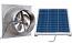 Natural Light 60-Watt Gable Solar Attic Fan