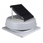 Natural Light SAF16CM- 16-Watt Curb-Mounted Solar Attic Fan (Flat Rooftops)