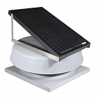 Natural Light SAF32CM- 32-Watt Curb-Mounted Solar Attic Fan (Flat Rooftops)
