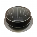 Natural Light 35-watt Low Profile Solar Attic Fan - Free Shipping