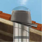 "Velux Tile Kit With Skirt & Turret For 14"" Pitched Flashing Units- TMR & TMF"