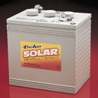 East Penn- Deka Solar GEL 8GGC2 6V Deep Cycle Battery