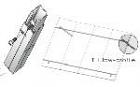 """Unirac 310126 - Low Profile Tilt Leg Kit- 18"""" (2 Legs Per Kit)"""