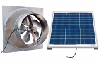 Natural Light 60-Watt Gable Solar Attic Fan