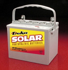 East Penn- Deka Solar GEL 8GU1H 12V Deep Cycle Battery