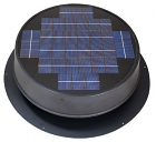 Natural Light 24 Watt Ultra Low-Profile Solar Attic Fan