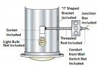Natural Light Tubular Skylight Light Kit - Free Shipping